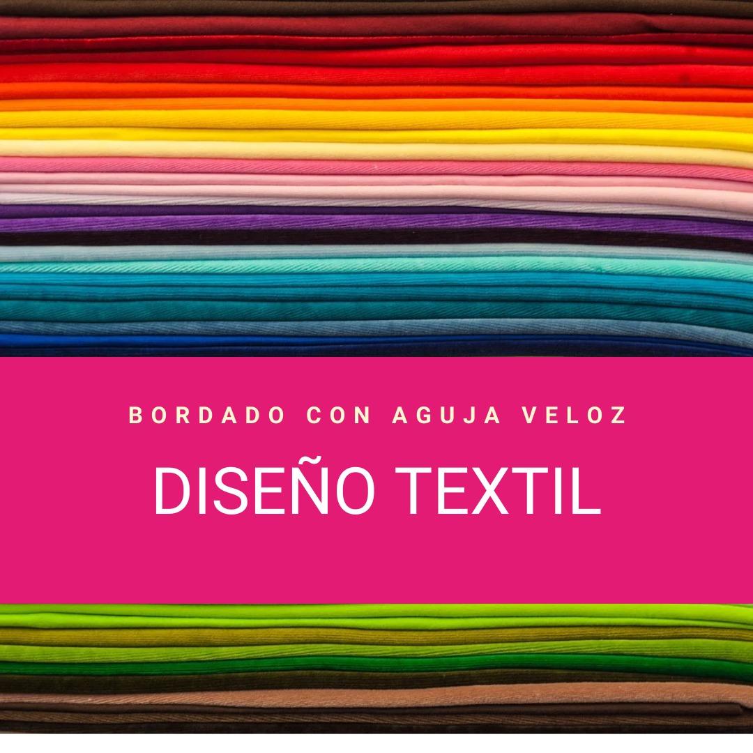 Diseño Textil – Bordado con aguja veloz