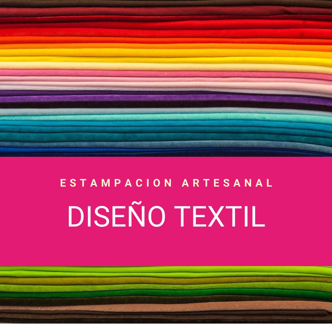 Diseño Textil – Estampación Artesanal