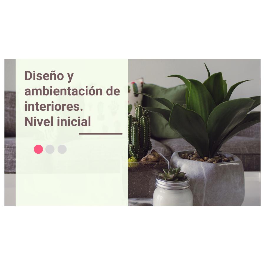 Diseño y ambientación de Interiores – Nivel Inicial